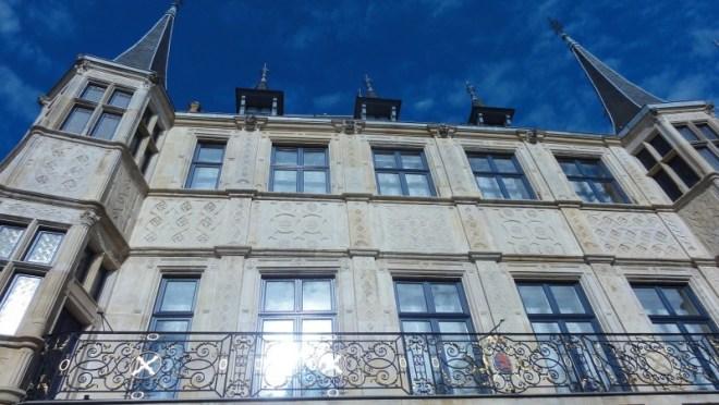 La façade du palais ducal