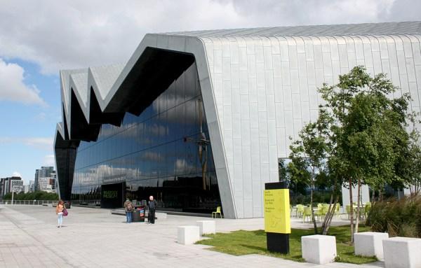 Le Riverside Museum, sorte de musée des transports, qui a l'avantage d'être gratuit