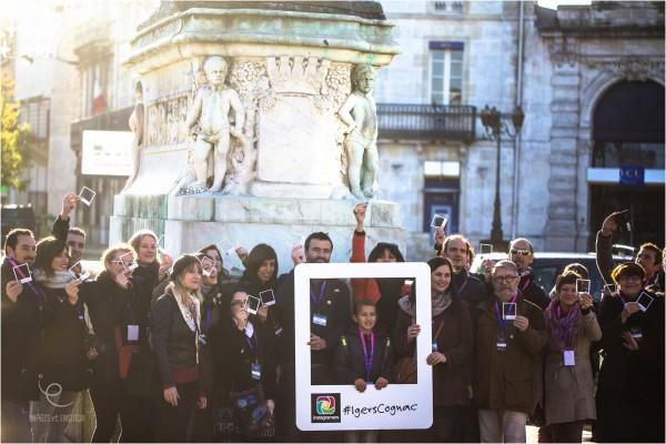 Photo de groupe du 1er instameet à Cognac © Jean-Marc-Vaillant