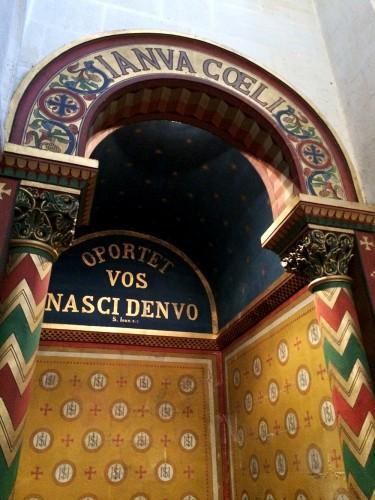 Détail de l'intérieur de l'église Saint-Léger de Cognac