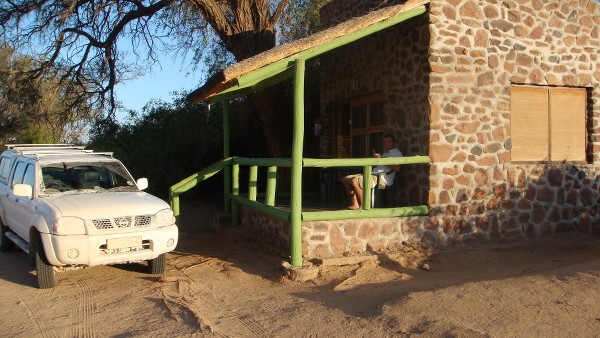 Lodge White Lady en Namibie - blog Bar à Voyages