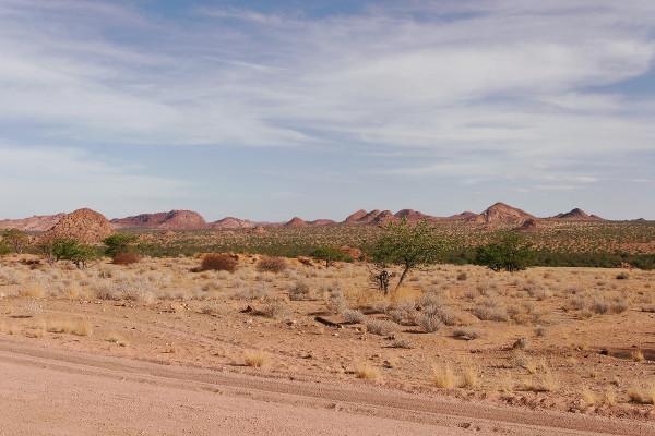 Désert du Brandberg en Namibie - blog Bar à Voyages