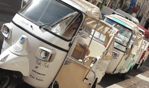 Tuk tuk à Lisbonne- blog Bar a? Voyages