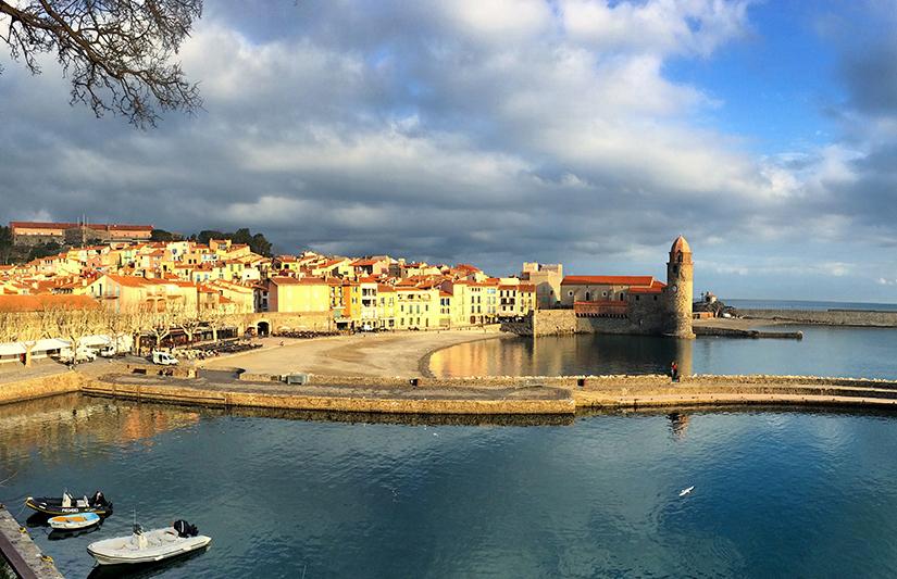 Vue sur le port de Collioure depuis le Château royal ©Magali Renard / Le Bar à Voyages