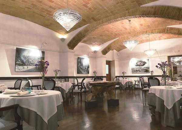 Intérieur du restaurant Le Divinum