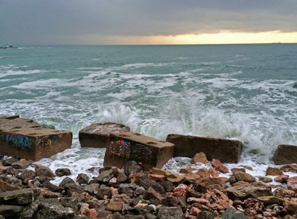 Mer déchaînée à Sète !