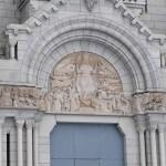 Entrée monumentale de la Basilique Sainte-Anne de Beaupré - Québec