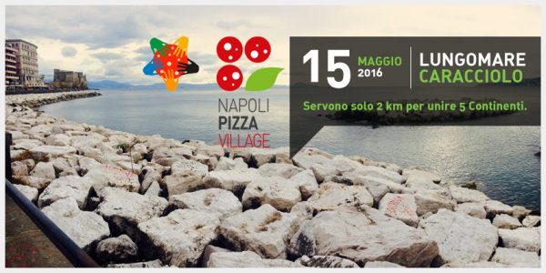 Pizza Napoli Village - le record de la pizza la plus longue au monde - 15/05/2016