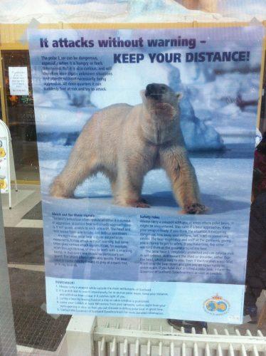 Svalbard-consignes - blog Bar a Voyages