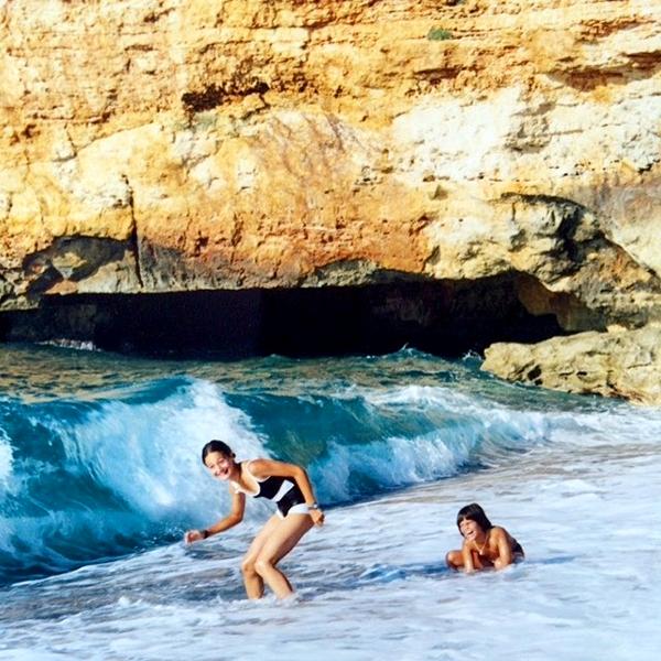 Eté 1998 : Deux cousines en vacances en Crète