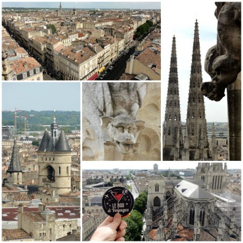 Montage photo de la Tour Pey Berland à Bordeaux