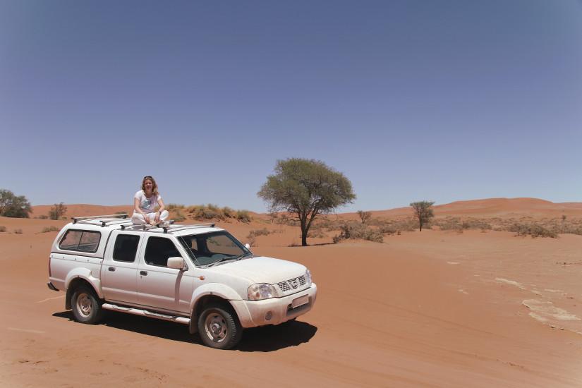 Claire en Namibie - blog Bar a Voyages