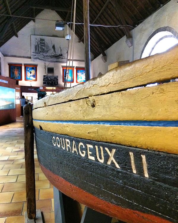Quelques beaux bateaux sont exposés au Musée de la pêche de Concarneau ©Magali Renard / Le Bar à Voyages