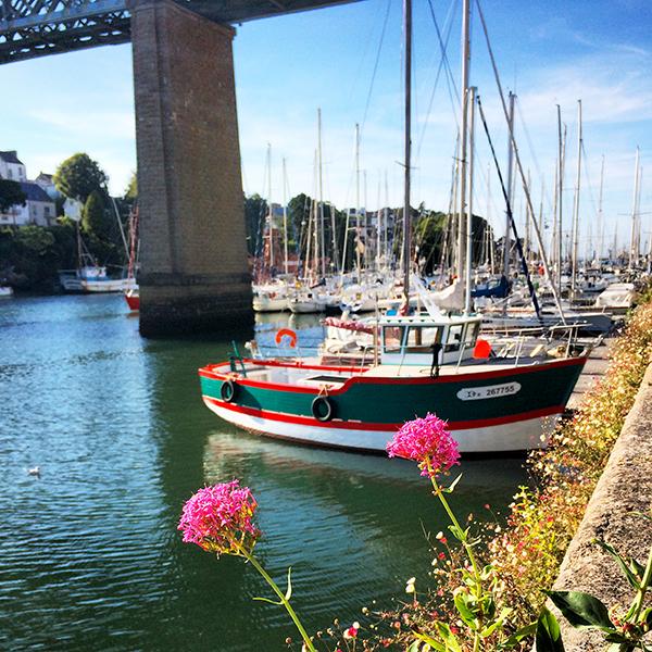 Vue du Port Rhu à Douarnenez ©Magali Renard / Le Bar à Voyages