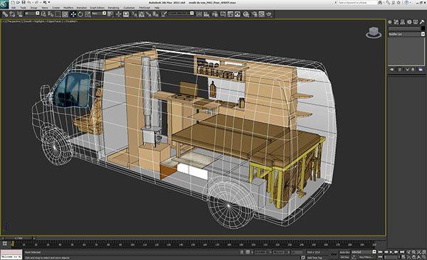 Modélisation 3D du Terrier migrateur ©Spicerabbits