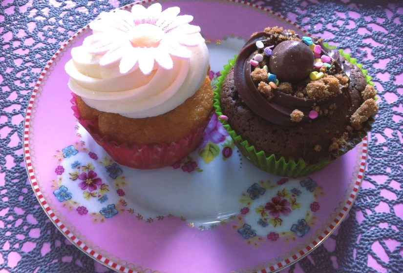 cupcakes de chez Made With Love à Capbreton - blog Bar a Voyages