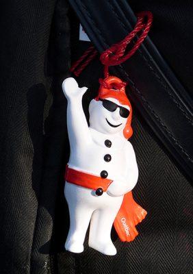 Bonhomme, la mascotte du carnaval de Québec ©Franck/Le Bar à Voyages