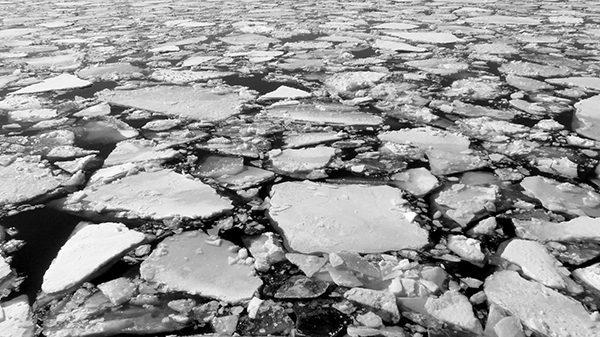Blocs de glace sur le fleuve Saint-Laurent ©Franck/Le Bar à Voyages