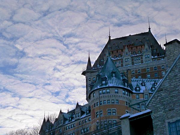 Le célèbre Château Frontenac, hôtel le plus photographié au monde ! ©Franck/Le Bar à Voyages