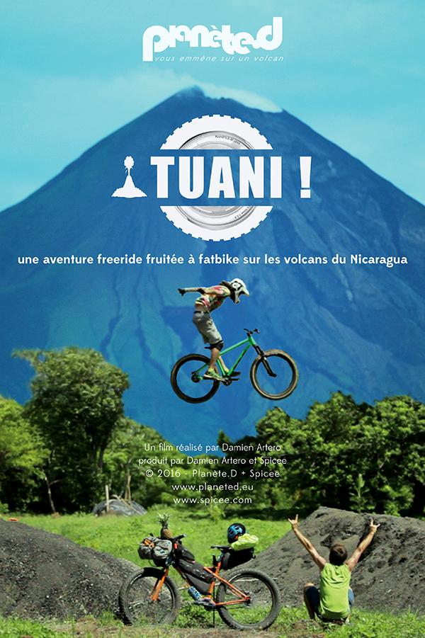 ¡Tuani!, une aventure fruitée à fatbike freeride sur les volcans du Nicaragua by Damien Artero