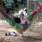 Moment détente dans le hamac à la réserve naturelle Chapada Imperial ©Rosana Evangelista