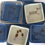 Assiettes assorties en céramique JatobáDesign