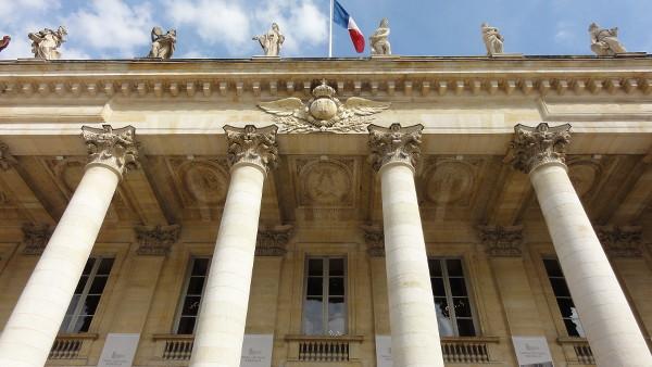 façade du Grand Théâtre de Bordeaux