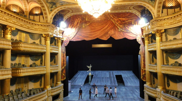 salle de spectacle Grand Theatre Bordeaux - blog Bar a Voyages