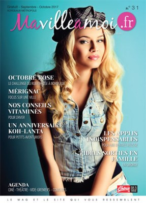 couverture du magazine MaVilleAMoi
