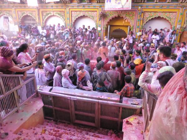 Holi festival en Inde