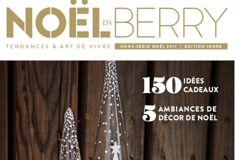 couverture du magazine Esprit Berry spécial fêtes