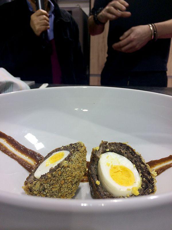 Manchester eggs... Suggestion de présentation ;-)