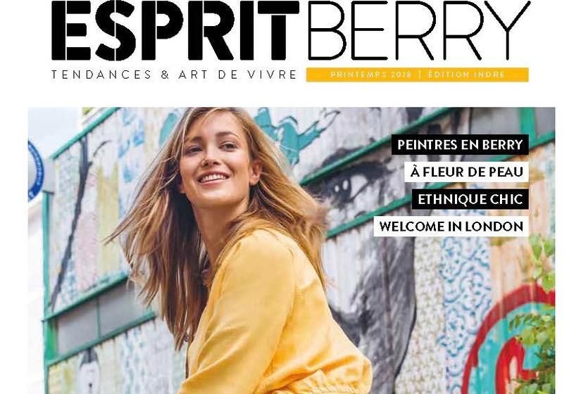 Couverture du magazine Esprit Berry n°2