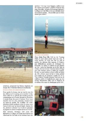 Article sur Hossegor dans le magazine MaVilleAMoi n°35