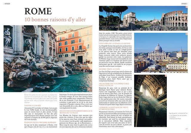 Article Rome MaVilleAMoi.fr