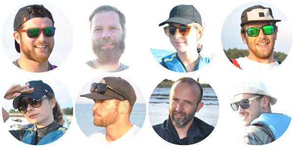 équipe du raid en pirogue - blog Bar à Voyages