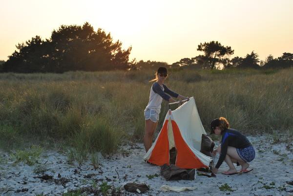 camping - raid en pirogue - blog Bar à Voyages
