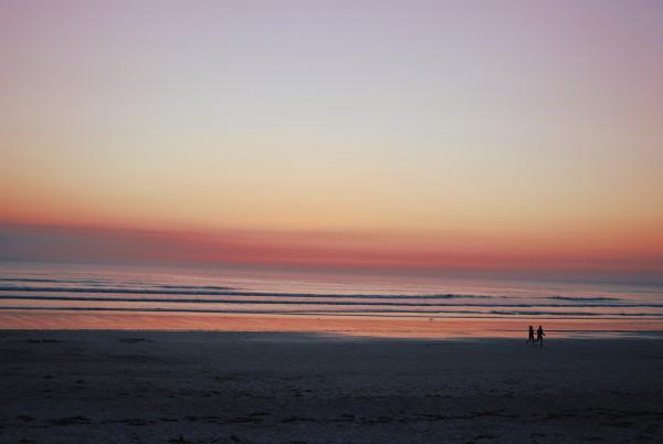 coucher de soleil - raid en pirogue - blog Bar à Voyages