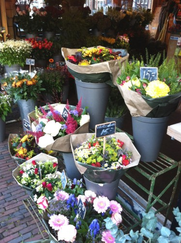 bouquets de fleurs - blog Bar à Voyages