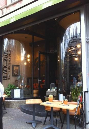 restaurant Black and Blue - blog Bar à Voyages