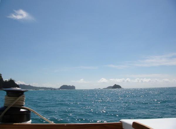 Balade en catamaran dans le Pacifique