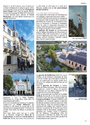 Article Luxembourg Ville page 2 - Magazine MaVilleAMoi n°47 - blog Bar à Voyages