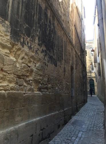 ruelle étroite dans le vieux Bordeaux