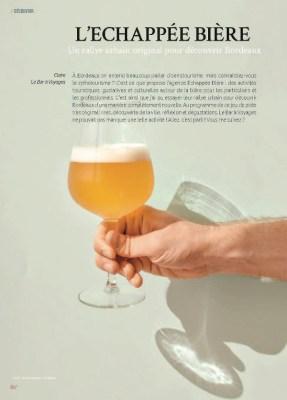 page 1 article Echappée Bière magazine MaVilleAMoi n°49