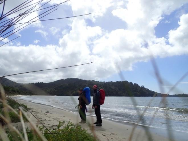 Rando sur la plaque en Nouvelle-Zélande