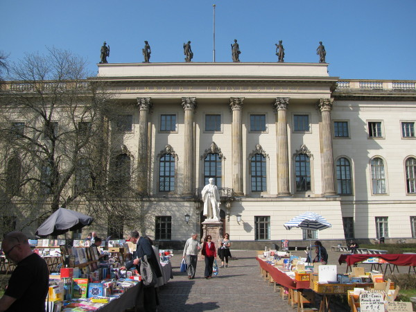 place animée dans Berlin