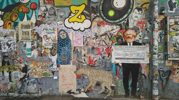 street art dans Berlin