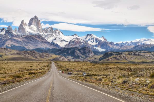 Paysage montagneux de Patagonie