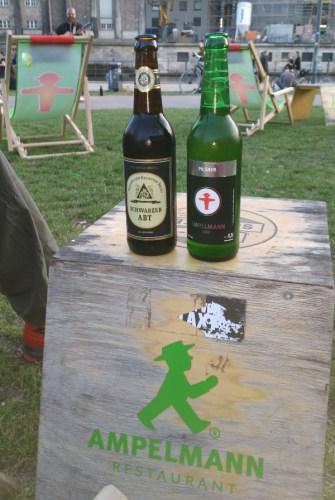 La marque de bière Ampelmann
