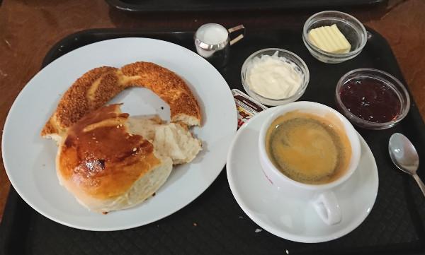 petit déjeuner traditionnel en Allemagne